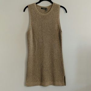 Lauren Ralph Lauren Sleeveless Sweater Dress M